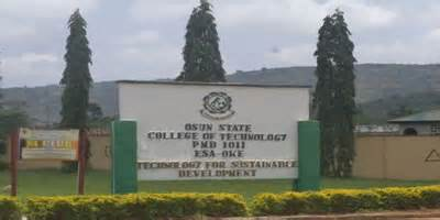 Photo of Post-UTME 2017: OSCOTECH Screening, Cut-off Mark And Registration Details