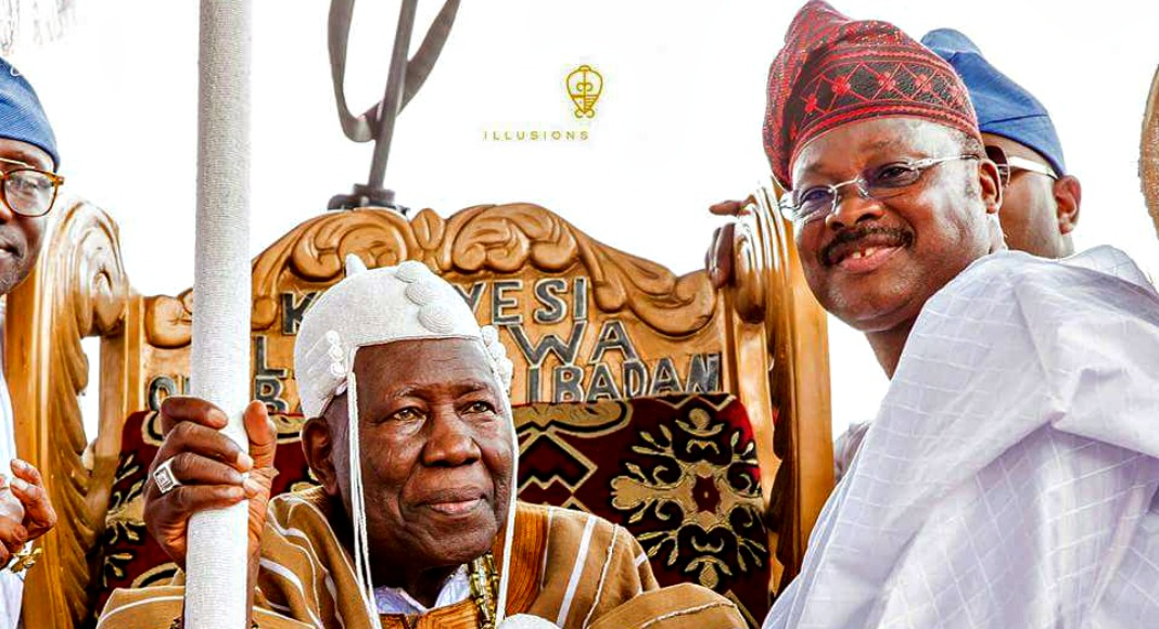 Olubadan - Court Adjourns Olubadan, Ladoja Cases Against Ajimobi