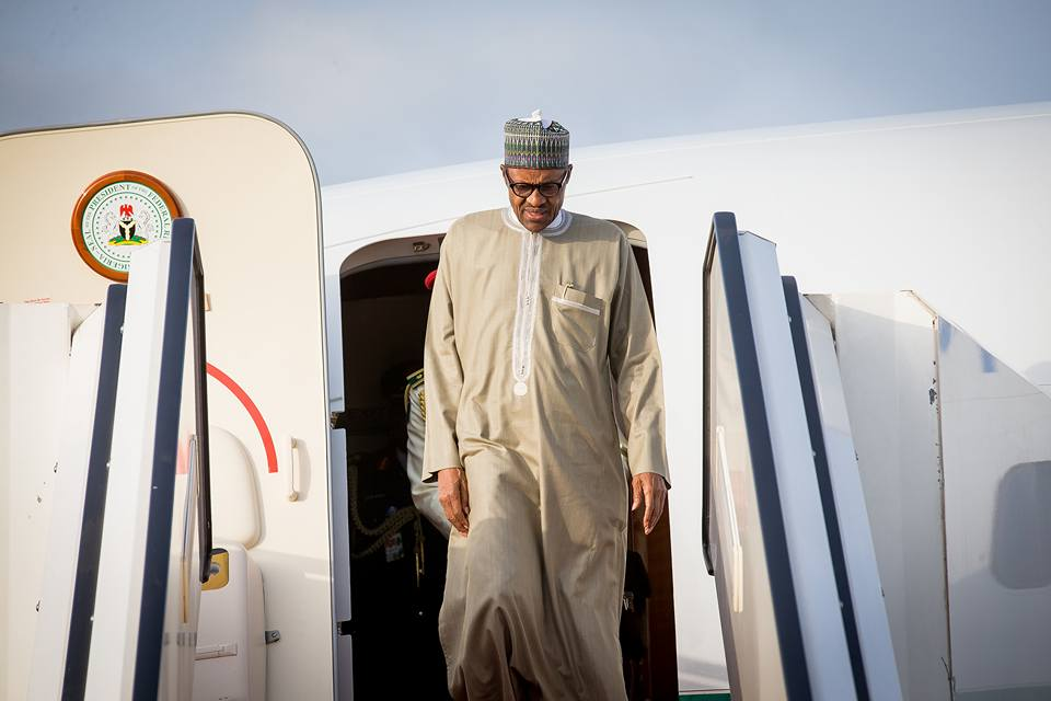 PMB - President Buhari Arrives In London After Attending UNGA, Returns to Nigeria On Monday