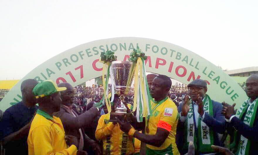 Photo of Plateau United Win 2016/2017 NPFL Title After Beating Enugu Rangers