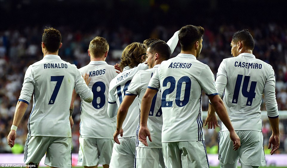 Photo of SEE LIST: Real Madrid Unveils UEFA Champions League Squad Against Dortmund