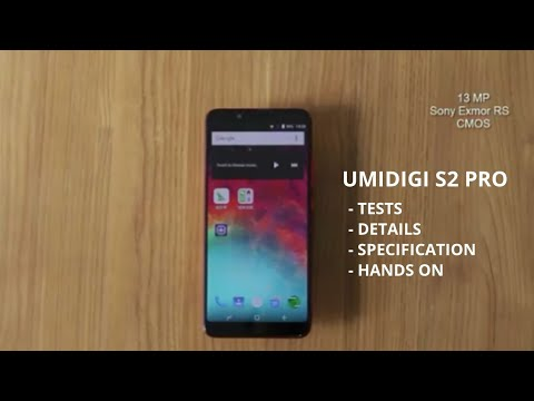 UMIDIGI S2 and S2 Pro - UMIDIGI S2 & S2 Pro Specifications and Price in Nigeria and India