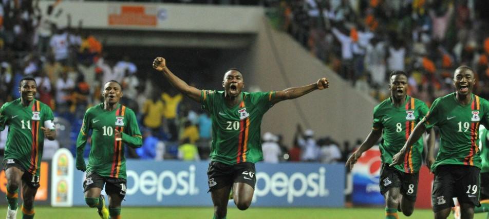 Zambia vs Algeria - 2018 World Cup qualifiers : Zambia Stun Algeria Away To Close Gap On Super Eagles