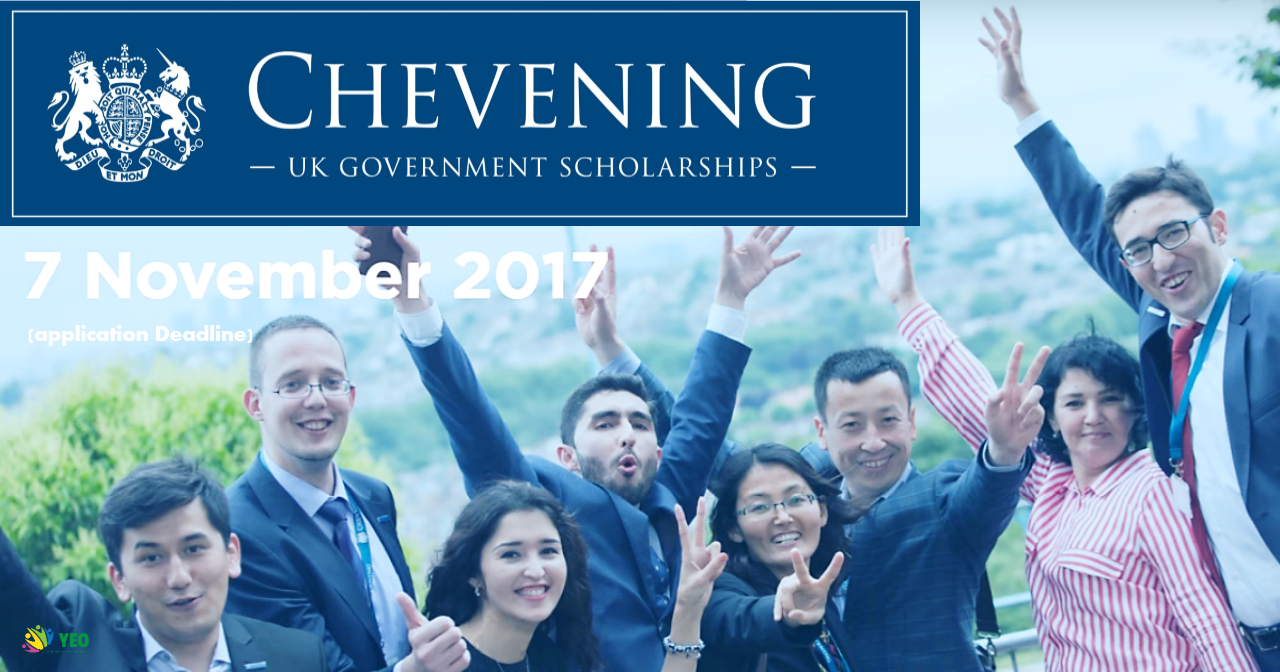 Photo of Study In UK: Chevening Scholarships for 2018/2019