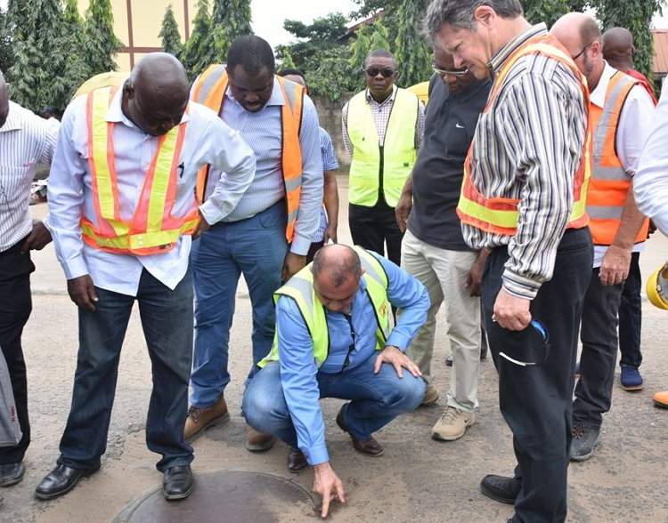 contractors of the project - Lagos State Govt. Begins Work On Oshodi-Airport Road
