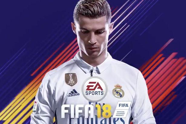 cr7 - CRISTIANO RONALDO CELEBRATED HIS NO.1 RANKING ON FIFA 18