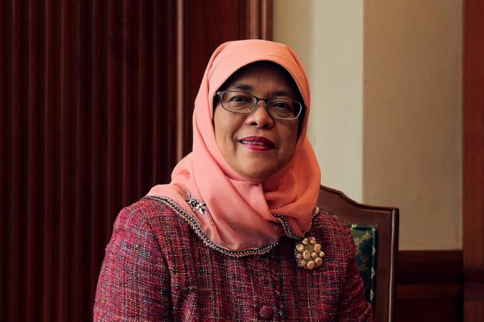 halimahyacob - Halimah Yacob Declared Singapore's First Female President
