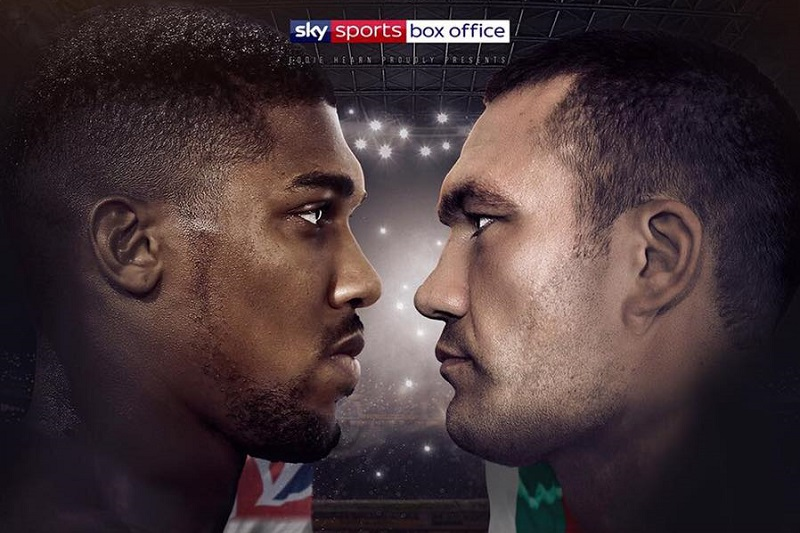 joshua pulev new - Anthony Joshua vs Pulev sells 70,000 tickets to become world's fastest event