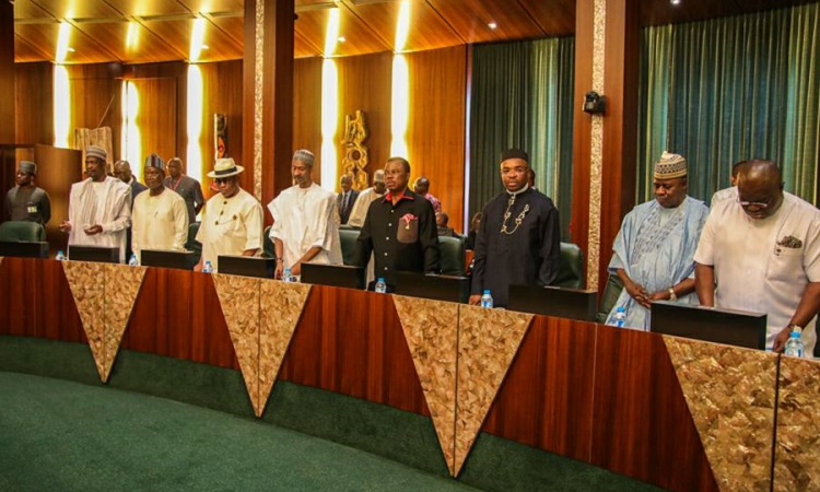 nec meeting  - State Governors Ask FG to Hand Over Federal Roads