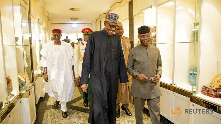 nigeria s president muhammadu buhari returning from a medical - President Muhammadu Buhari will leave Nigeria on Monday