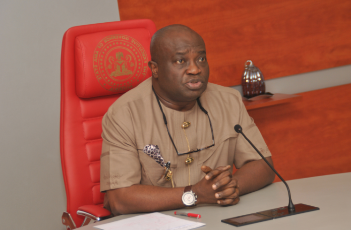 okezie 2 696x456 - Gov. Okezie Ikpeazu Appoints Acting Chief Judge For Abia State