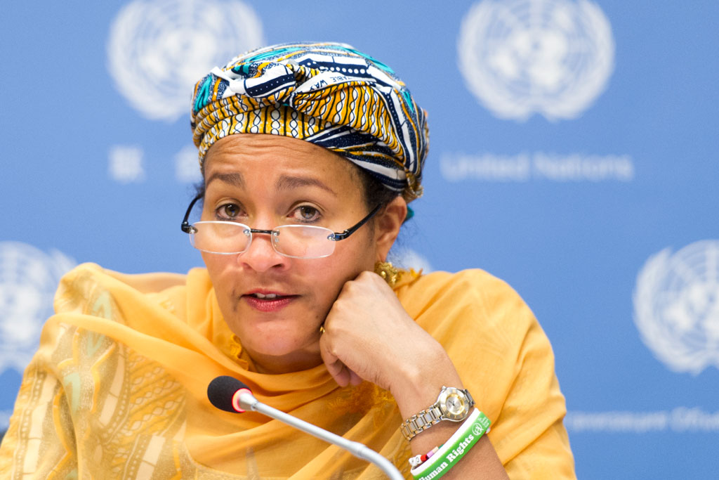 Photo of Amina Mohammed Denies Alleged Involvement In $300m Timber Scandal