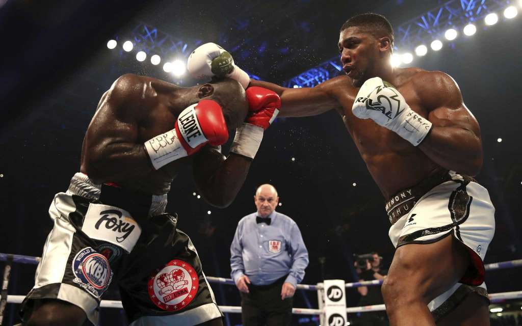 Anthony Joshua Defeats Carlos Takam