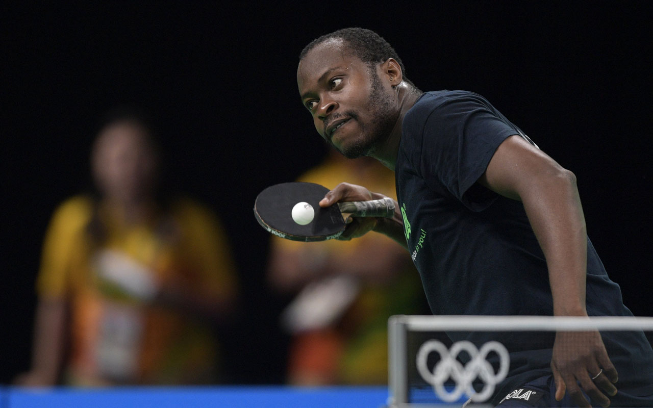 Photo of Nigeria's Aruna Quadri Loss to Korea's Lee Sangsu In Belgium
