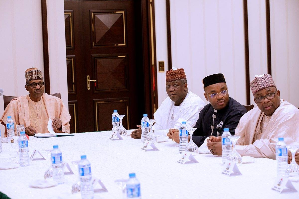 Buhari, Governors