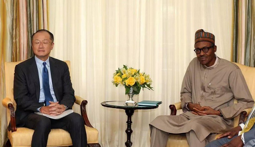 Buhari Jim - Buhari's Discussion with World Bank President Over Northern Nigeria Was Twisted - Presidency