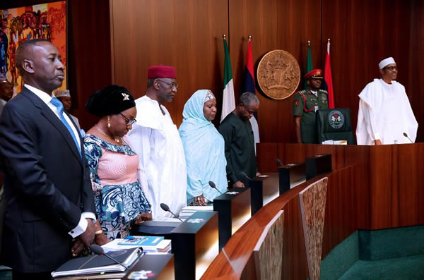 Photo of Dambazau Absent As President Buhari Presides Over FEC Meeting