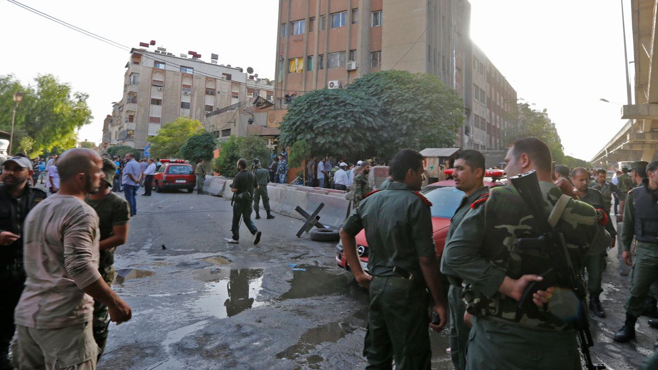 Photo of Double Suicide Bomb Hit Damascus Police Station At Least 16 killed