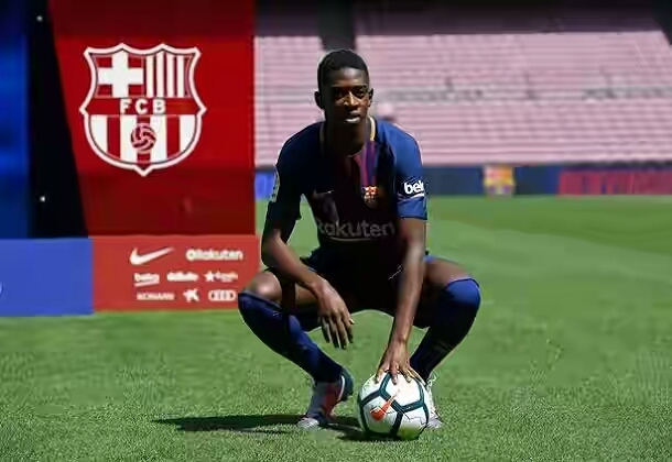 Dembele of Barcelona OkayNG - Here Is The Latest Update On Ousmane Dembele's Injury