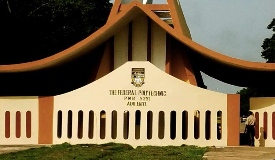 Federal Polytechnic Ado Ekiti  - Federal Polytechnic Ado Ekiti Shut Down After Violent Protest By Students