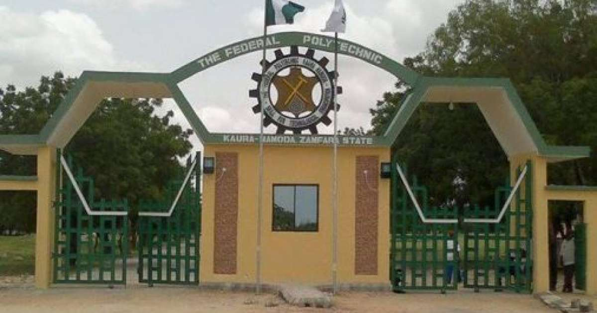 Photo of Federal Polytechnic Kaura, Namoda 2017/2018 (1st Batch) Admission List Released