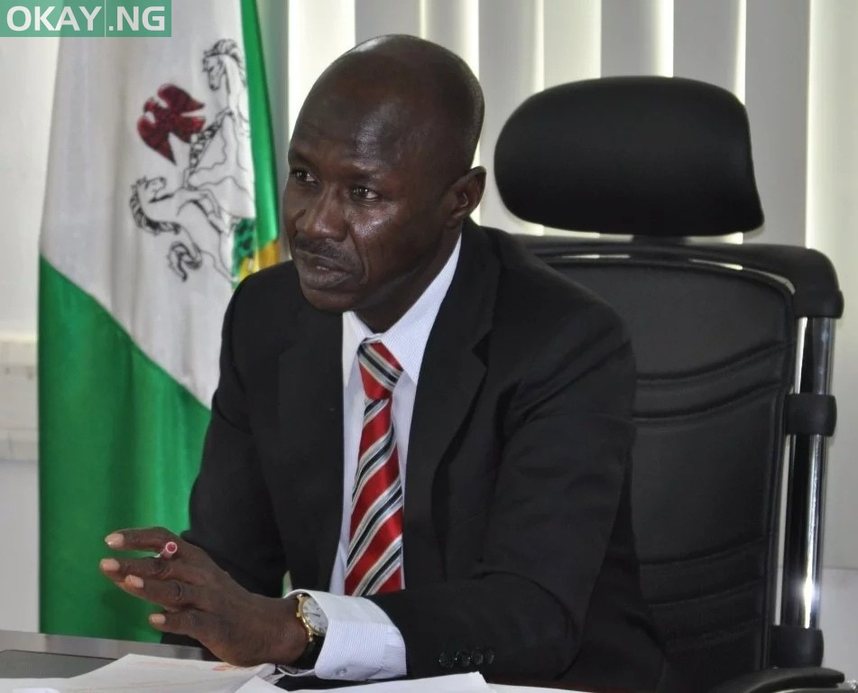 Photo of DSS arrests EFCC boss, Ibrahim Magu