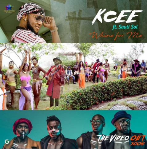 Kcee Sauti Sol Whine - VIDEO: Kcee ft. Sauti Sol – Wine For Me