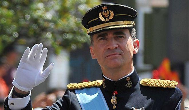 "King Felipe VI - ""Catalan Vote Illegal"" - Spain's King Felipe VI"
