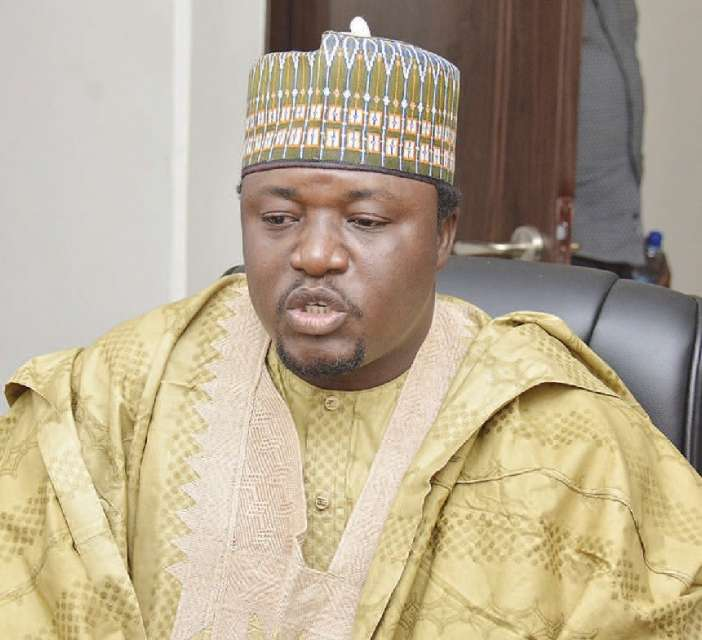 Leader of the Arewa Youths Consultative Forum Shettima Yerima - Arewa Youths Slams Nnamdi Kanu Over Claim that Buhari Has Been Replaced By An Imposter