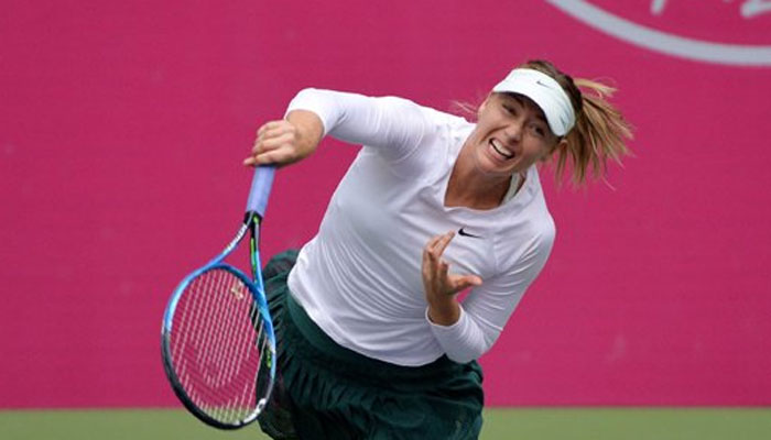 Photo of Maria Sharapova defeat Magda Linette in Tianjin Open