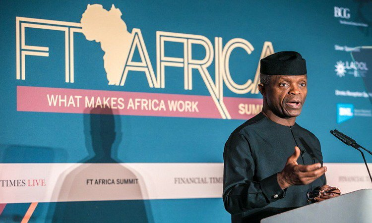 Photo of FT Africa Summit: Osinbajo Urges Foreign Investors to Come and Invest In Nigeria