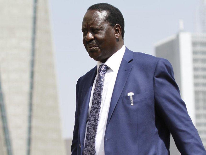 Raila 3 - Raila Odinga Withdraws from Kenya's Presidential Election Re-run