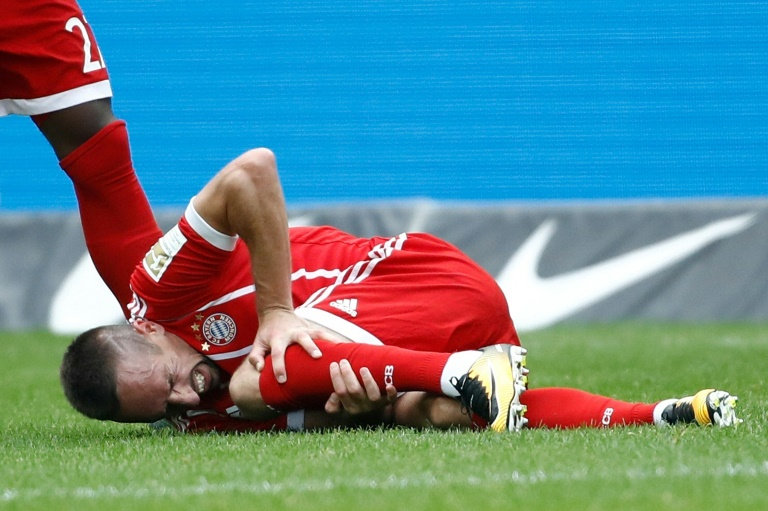 Ribery - Bayern Munich Winger Franck Ribery sidelined for up to three months