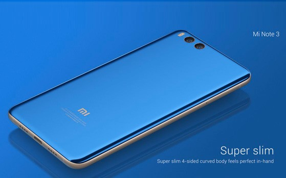 Xiaomi Mi Note 3 - Xiaomi Mi Note 3 Specifications and Price in Nigeria
