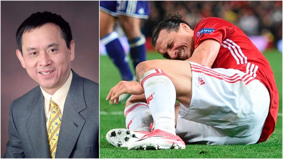 Photo of Zlatan Ibrahimovic's surgeon, Dr. Freddie Fu warns over Manchester United return