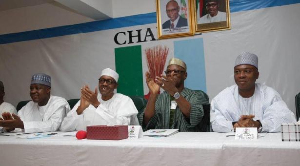 Photo of President Buhari, Osinbajo, Saraki, Dogara Attend APC NEC