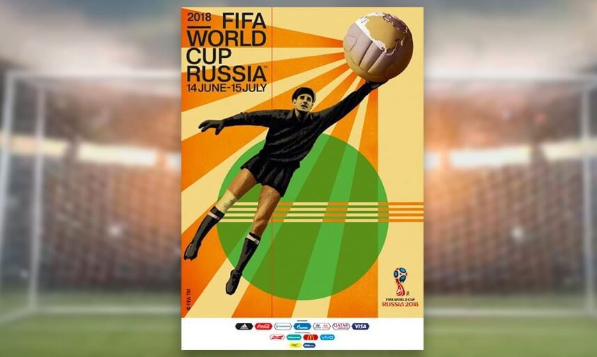 2018 FIFA World Cup Poster