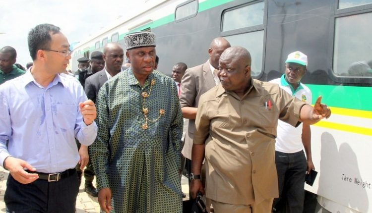 Amaechi Expecting A Rail Line