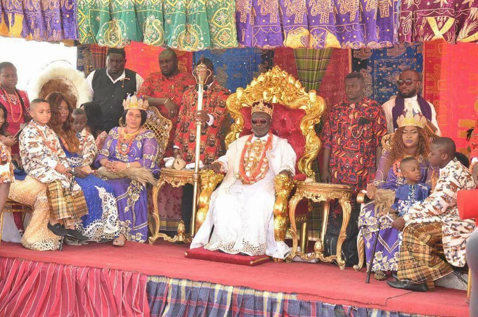Photo of PHOTOS: Ex-Militant Leader, Ateke Tom Crowned King In Rivers State