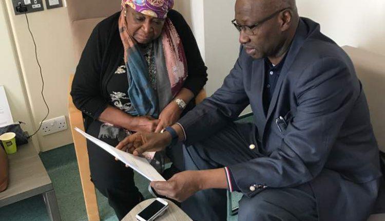 Boss and Ekwueme In London
