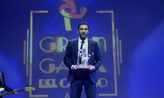 Buffon Serie A Player of the Year