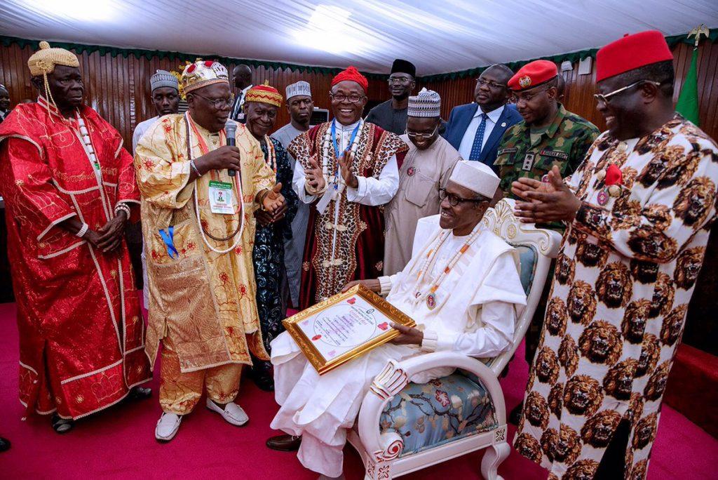 Buhari Ebonyi Title