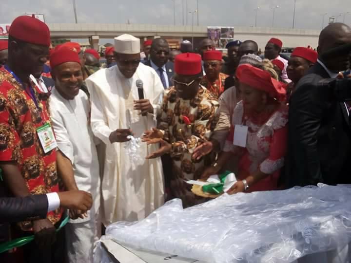 Buhari In Ebonyi OkayNG 1 - PHOTOS: President Buhari Commissions Projects in Ebonyi