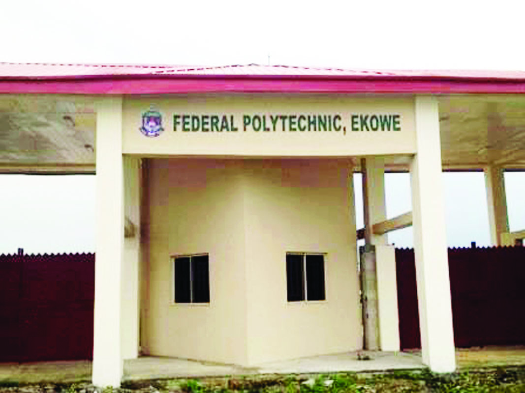 Photo of FEDERAL POLYTECHNIC EKOWE 2017/2018 ND/HND Admission Announced