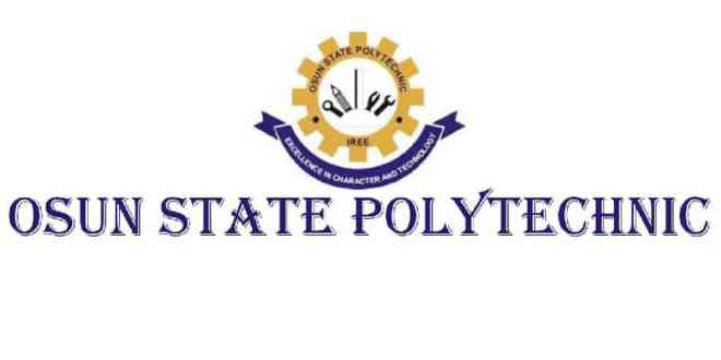 OSUNPOLY - Osun State Polytechnic, Iree 2017/2018 Daily Part-time Admission Released