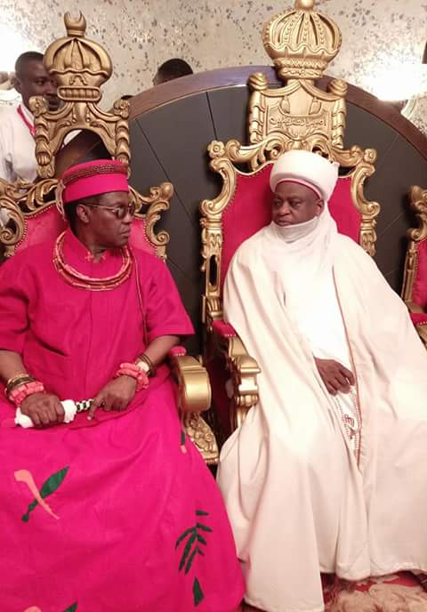 Photo of Oba of Benin Visits Sultan of Sokoto, Says Preservation Of Cultural Values Key To Unity
