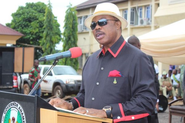 Obiano delivers speech - Tribunal Upholds Governor Willie Obiano's Election