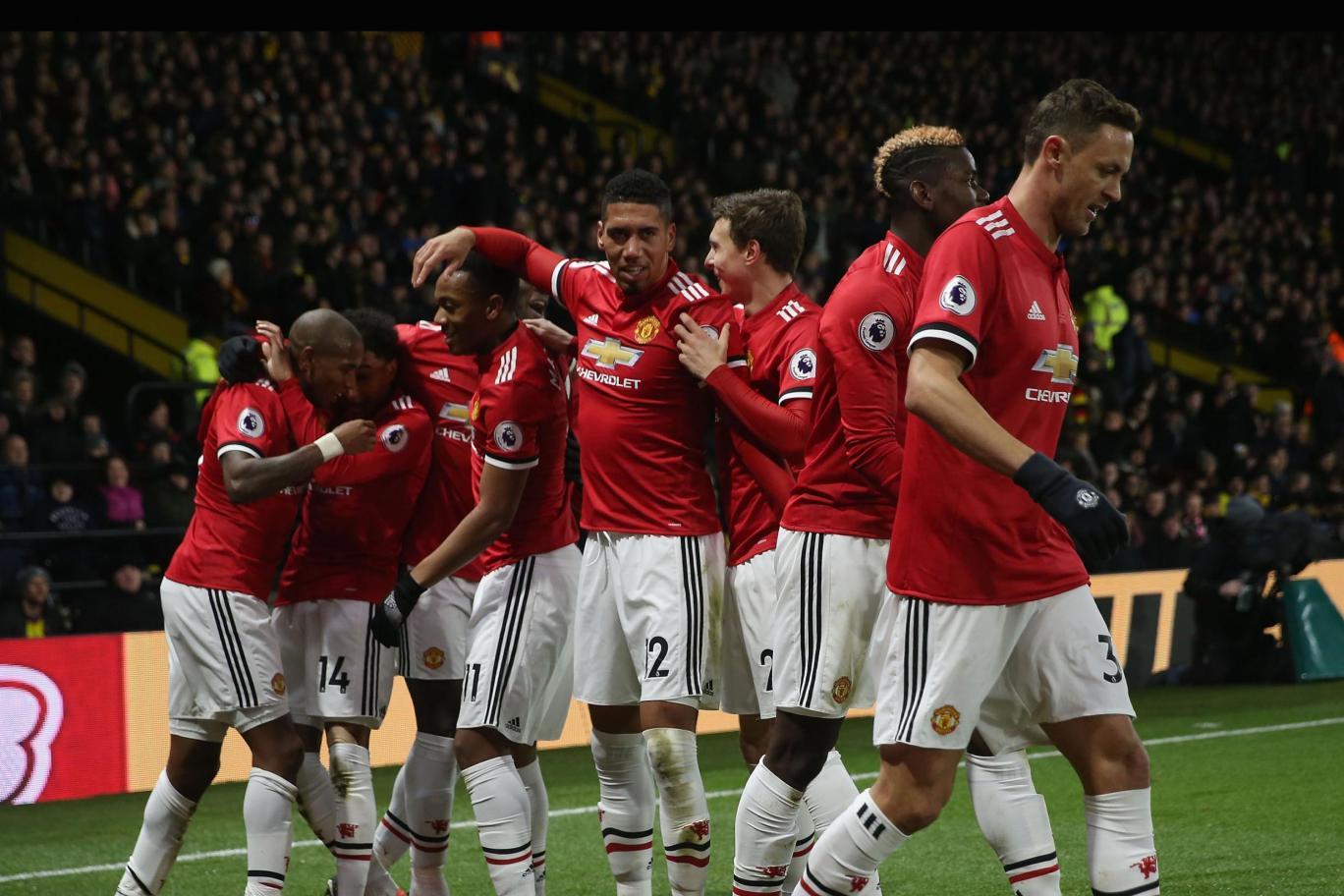 Watford 2-4 Manchester United (Premier League)
