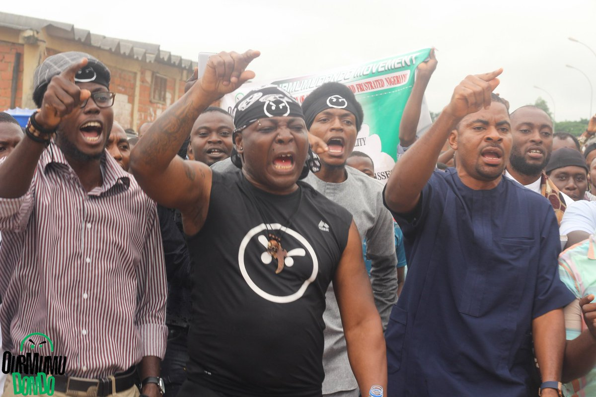 Charly Boy Protest