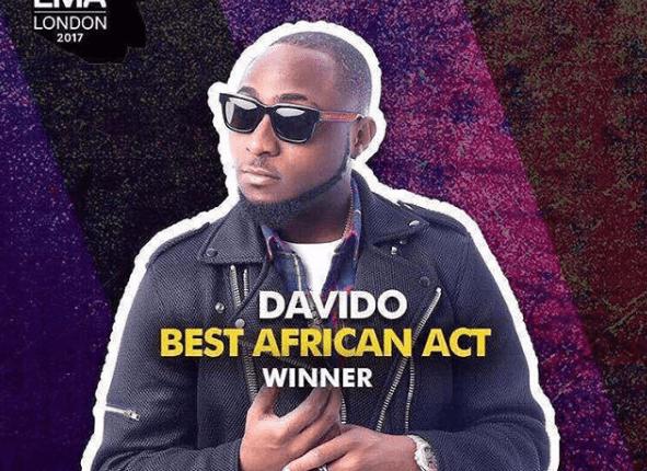 Davido Wins Award